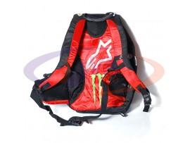 Моторюкзак для ноутбука Alpinestars, черно-красный