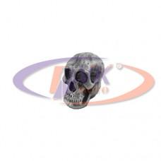 Колпачки на диски - металл череп  (цинк)