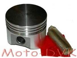 Поршень на мотоблок Нева 76 мм Норма с пальцем (под  широкие кольца)