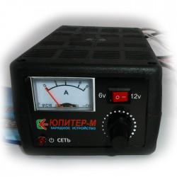 """Зарядное для кислотных аккумуляторов   6В 6А - 12В 6А  """"Электрон-М"""""""