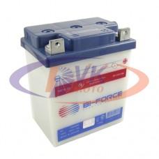Мото аккумулятор 6В 18А c электролитом BFC06018   Bi-Force (Иж/Мт)