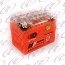 Гелевый аккумулятор 12в 4А YTX4L-BS (GEL) OUTDO клемы коробка