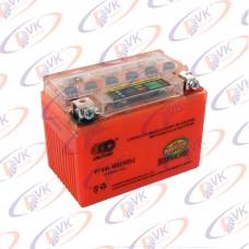 Аккумулятор гелевый 12В 4А YTX4L-BS I-GEL на скутер (с индикатором заряда), OUTDO