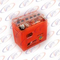 Гелевый аккумулятор  12В 5А  YTX5L-BS  (GEL) OUTDO клема коробка