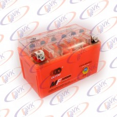Гелевый аккумулятор 12в 7А YTX7A-BS(GEL) клемы коробка