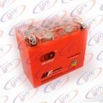 Аккумулятор гелевый 12в 10А  клемы коробка  YT12B-4(GEL) OUTDO