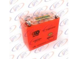 Гелевый аккумулятор  12В10А клемы коробка YT12B-4(I-GEL) с индикатором OUTDO
