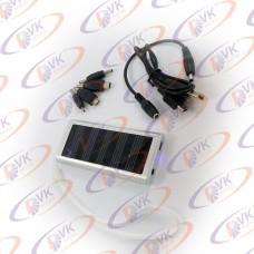 Универсальная мобильная батарея Solar 1350mAH 5.5 V, серебро