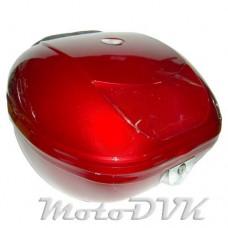 Багажник на скутер  DVKmoto ZH-N03  abs  красн.