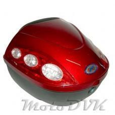 Багажник на скутер    ZH-B00E abs  красный