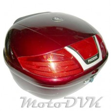 Багажник на скутер    PH 08    (31литр)  красн.