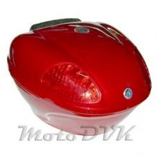 Багажник на скутер    N01  abs красный