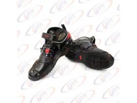 Мотоботы PRO-9002 черные, 45 размер
