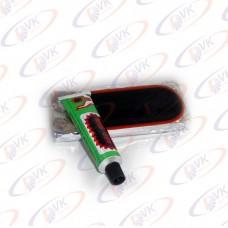 Ремкомплект для камеры (латки, клей) (к-т 9 шт)
