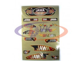 Наклейки на мотоцикл  Jawa