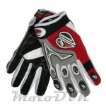 Мотоперчатки Scoyco MX-12 (красно-серые)