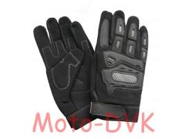 Мотоперчатки (со вставками) Armode MG-002 черные