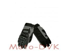 Мотоперчатки (со вставками) Armode MG-002 серые