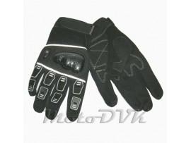 Мотоперчатки (с защитой пальцев) Armode MG-003 черные