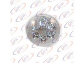Мото фара ,модуль светодиодный Woye GN-125 (6 диодов,d=140 мм)
