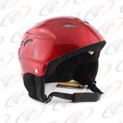 Відкритий шолом DVKmoto QL-631 abs червоний розмір S / M