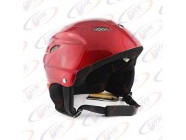 Открытый шлем DVKmoto  QL-631 abs красный размер S/M