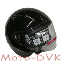Мотошлем DVKmoto QL-K51  abs  черн.  без челюсти