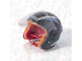 Шлем  детский без челюсти  MoтоTech  LY-906 чёрный S