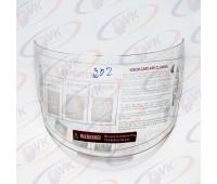 Визор на шлем DVKmoto QL-202 прозрачный, противоударный