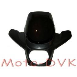 Обтекатель на мотоцикл с защитой рук (грунт)