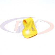 Важіль мото круїз контролю ручки газу Монстр універсальний, жовтого кольору