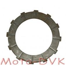 Диск сцепления прямой  на мопед Карпаты, Верховина металокерамика