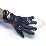 Мотоперчатки кожаные черные Alpinestars Gp Tech, ХL (длинные)