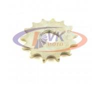 Звезда моторная обычная 4-скор 14 зуб на мопед  Simson