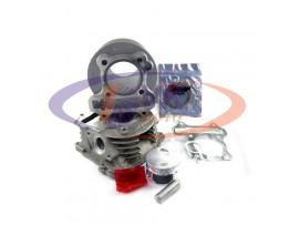 Цилиндр c головкой   на скутер 4Т Yaben-100  d50  тюнинг