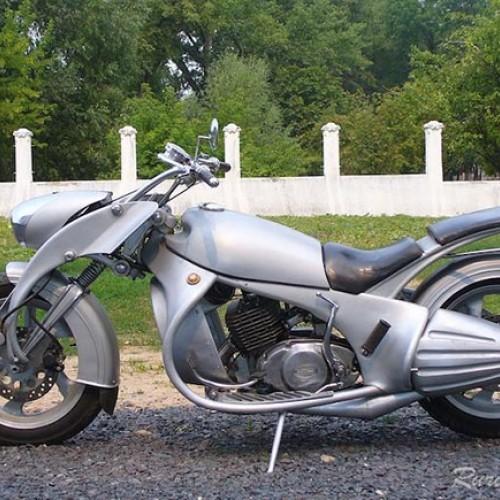 Мотоцикл і мотозапчасти.