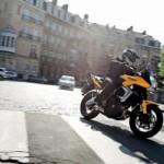 30.11.2012 Вождение и управление мотоциклом  в городе.
