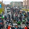 09.02.2013 -  Движение в мотоколонне.