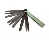 Щуп для измерения зазоров 17 лепестков (0,02-1,0 мм)