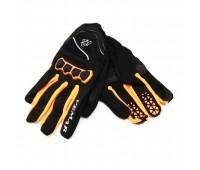 Мотоперчатки VEMAR  VE 190 чёрные с оранжевым, размер XS