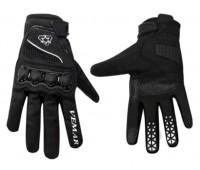 Мотоперчатки VEMAR  VE 190 чёрные, размер XS