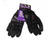 Мотоперчатки VEMAR  VE 175 чёрные, размер M