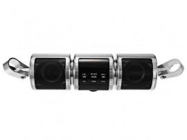 Аудиосистема с Bluetooth и ЖК-дисплеем, крепление на руль (MT-487)