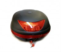 Кофр для мотоцикла LX-007 черный, съемный