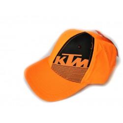 Кепка KTM, помаранчева з чорним