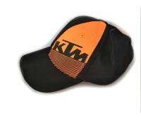 Кепка KTM, чорна з помаранчевим