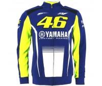 Кофта спортивная Yamaha VR46 синяя, размер S
