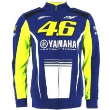 Кофта спортивная Yamaha VR46 синяя, размер M