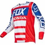 Джерсі для мотокросу Fox Honda червоно-біла, розмір L