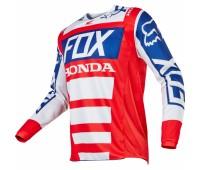 Джерси для мотокросса Fox Honda красно-белая, размер L